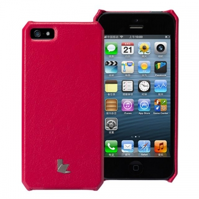Genuine Cow Leather iPhone 5 Case by Jison - m