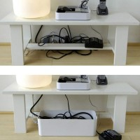 Under Desk Cable Management Organizer Cablebox By Blue Lounge
