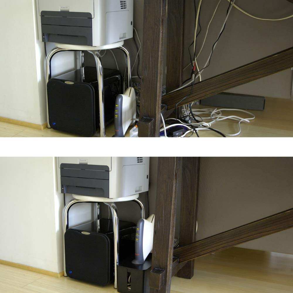 Desk Cable Management How To Hide Cables Under